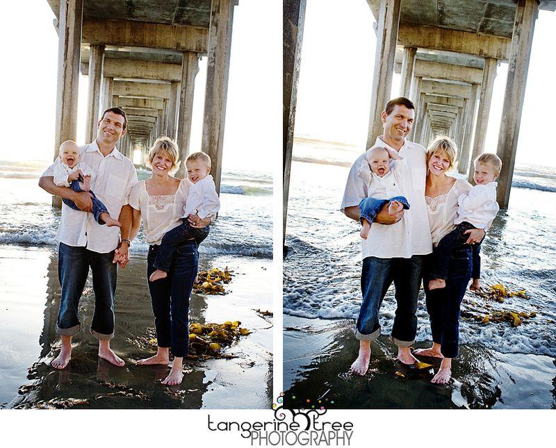 Family scripps pier