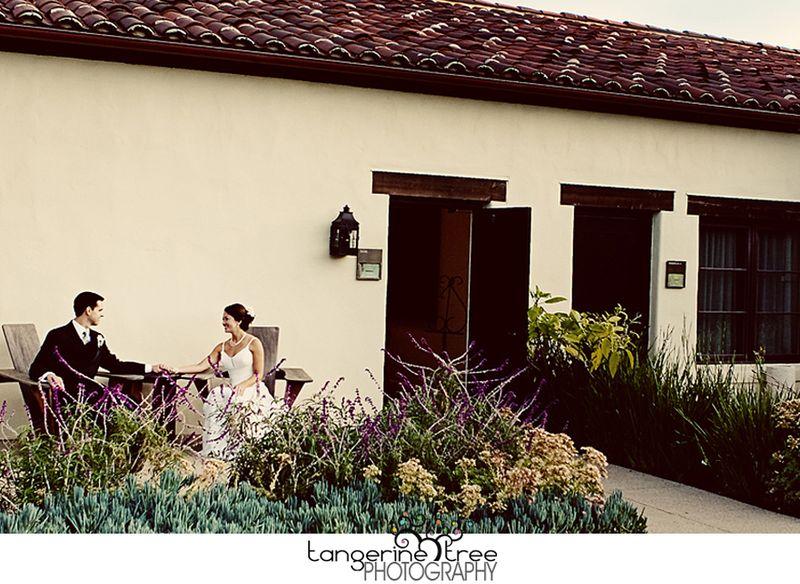 Estancia bride and groom