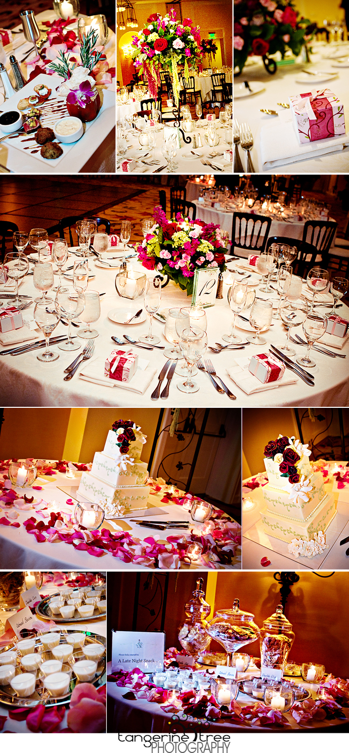 Estancia ballroom reception details