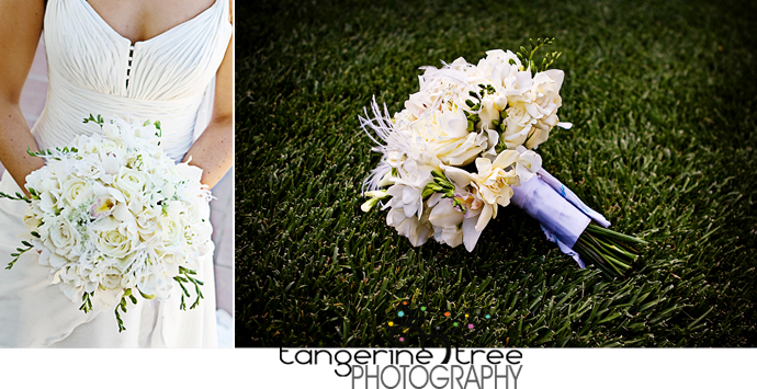 Bridal boquet estancia la jolla san diego wedding