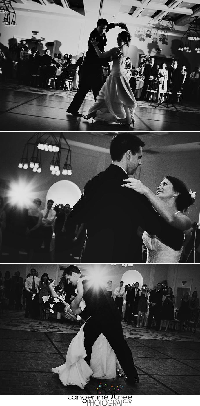 Bride groom first dance estancia