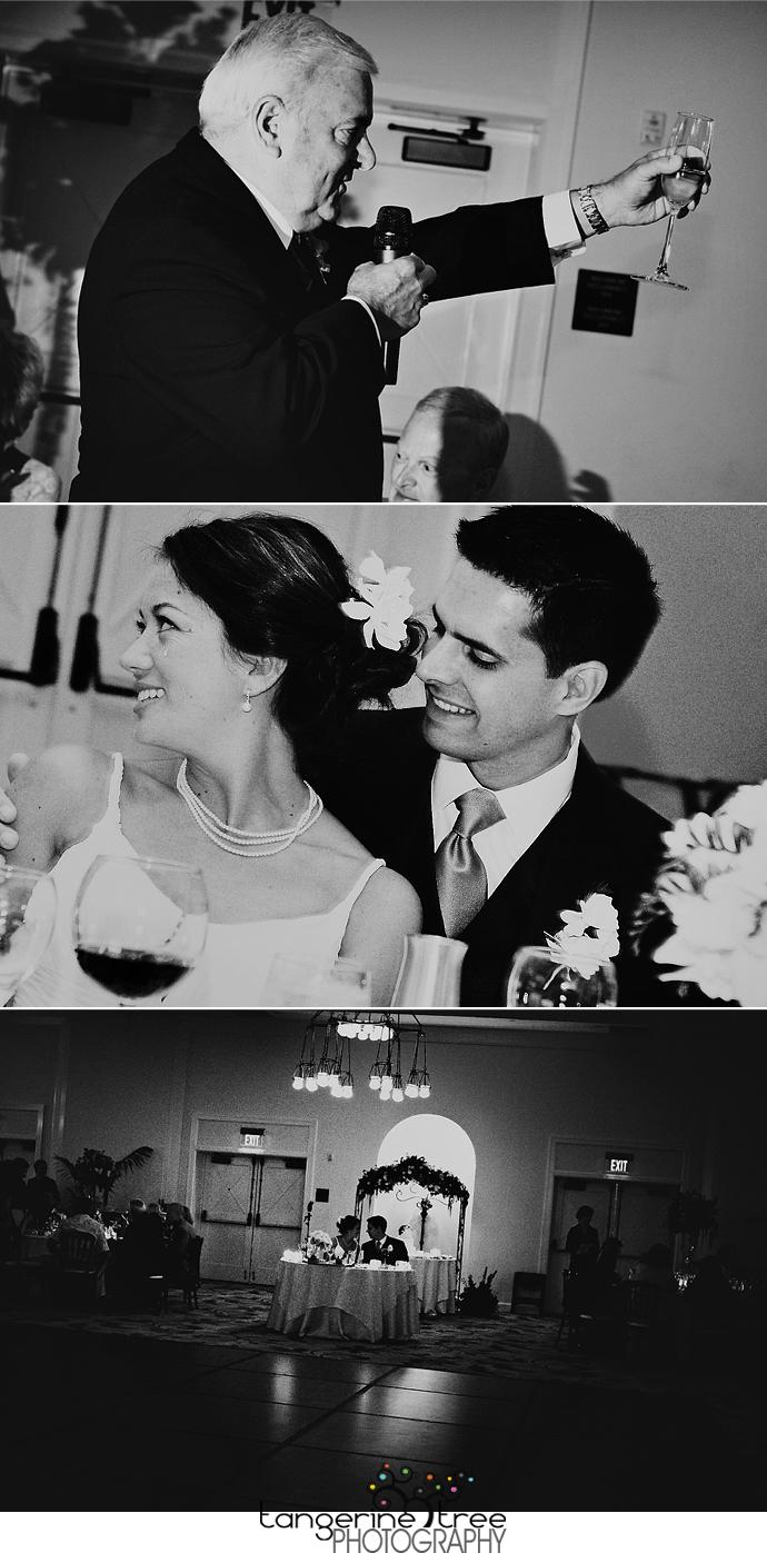 Estancia la jolla wedding reception