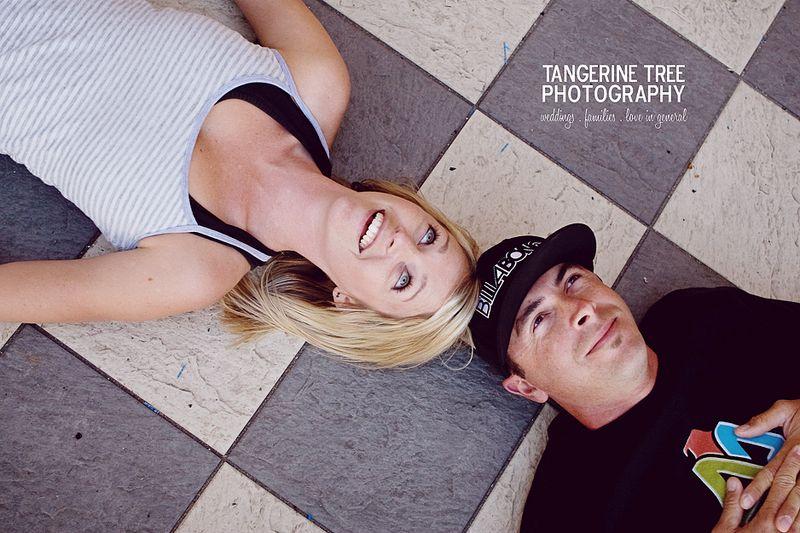 Fun engagement photography san diego