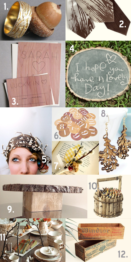 Wood inspiration board