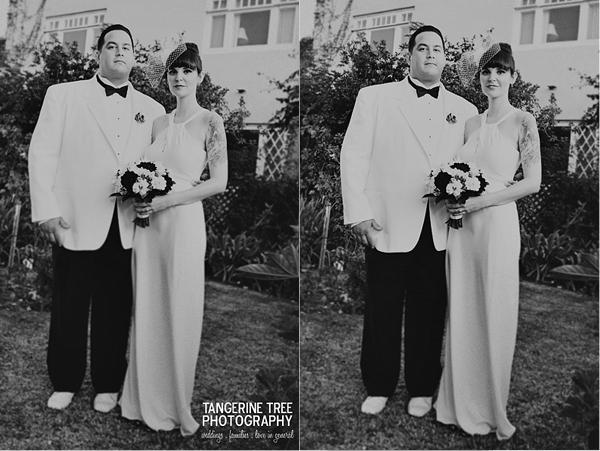 San diego bride groom edgy modern