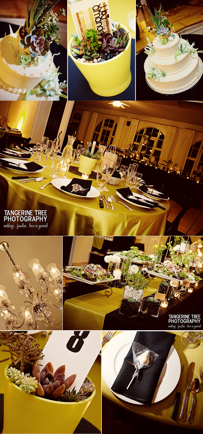 Reception san diego womens club wedding
