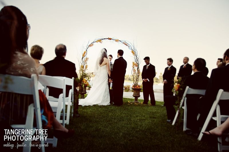 Ceremony coronado community center san diego wedding