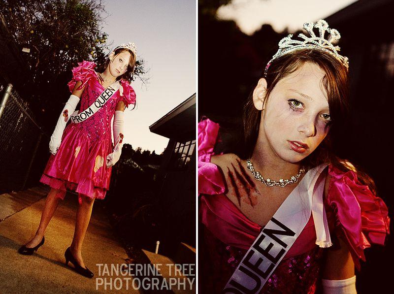 Zombie prom queen halloween