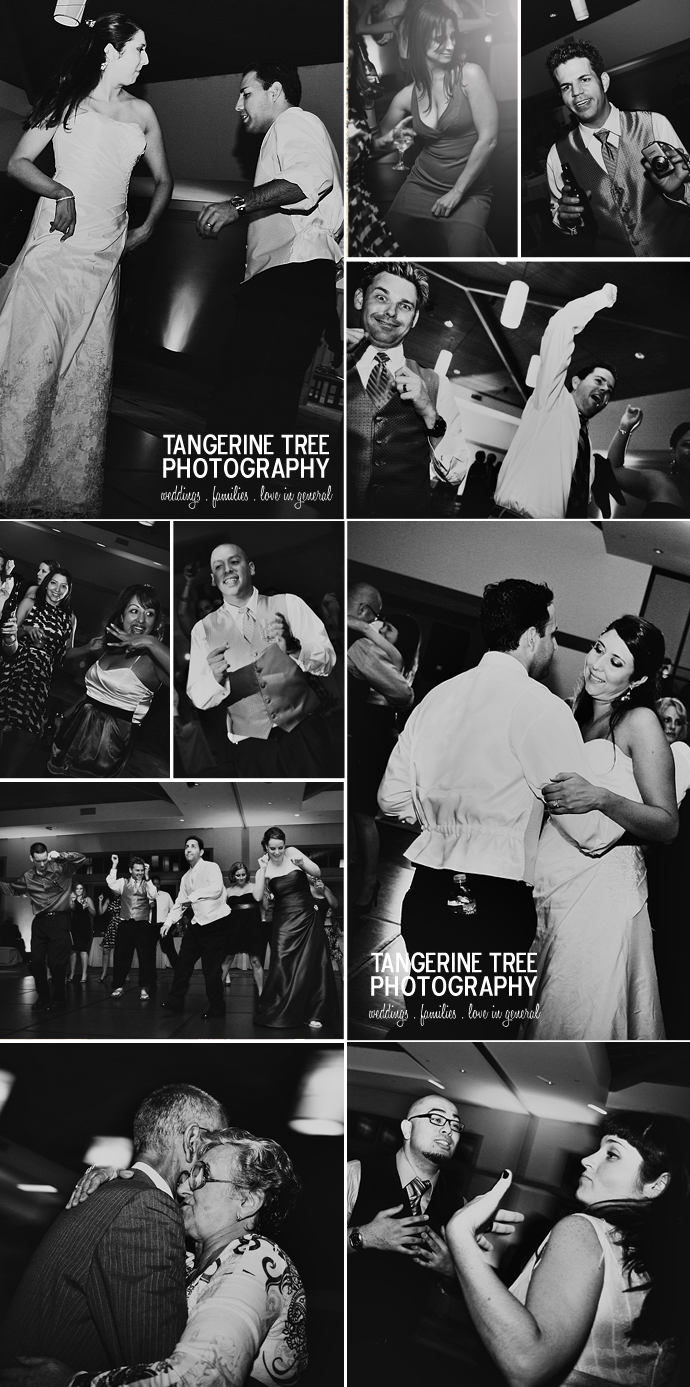 Modern wedding reception photography coronado community